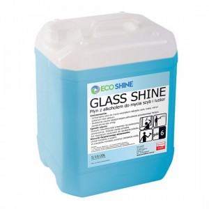 GLASS SHINE 5L - Płyn z alkoholem do mycia szyb i luster